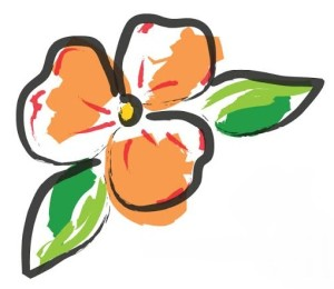 ITG Logo just flower